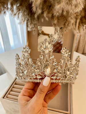 couronne bijoux de tête diadème couronne royale